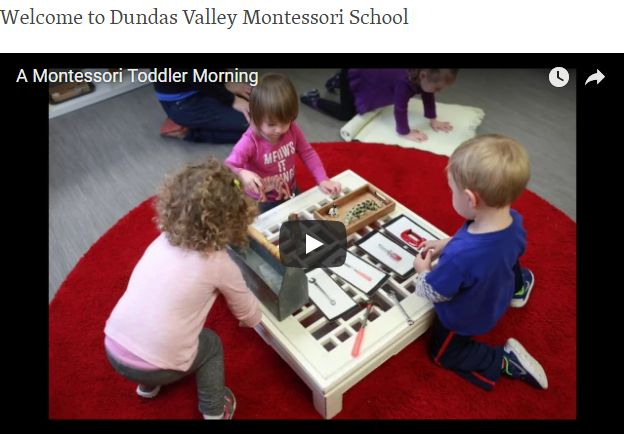 Watch these Videos, and See the Montessori Work Cycle in Action
