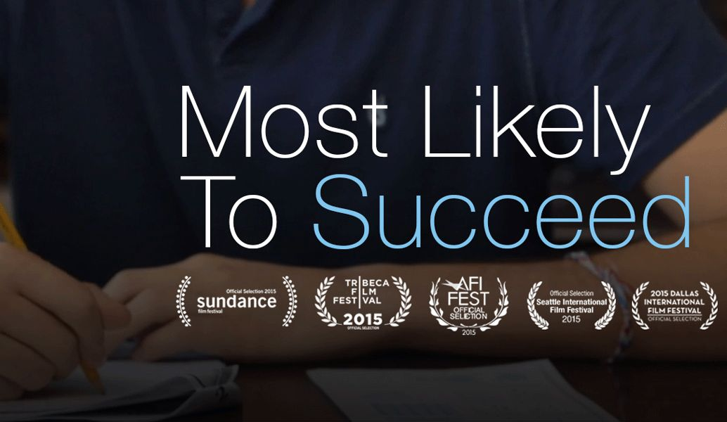 "Screening of ""Most Likely to Succeed,"" January 24"
